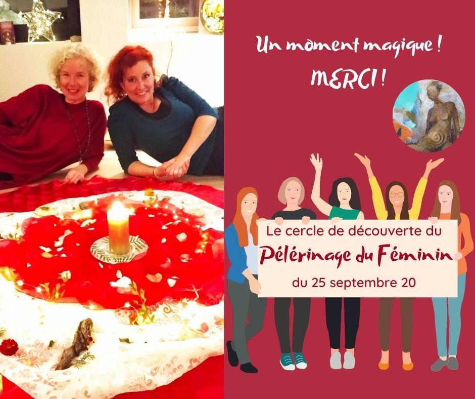 Le cercle de découverte du Pélérinage du FémininV3